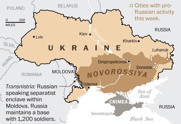 harta Novorossia