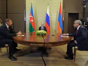 Putin, Sargsyan si Aliyev